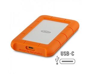 LaCie Rugged USB-C Portable Hard Drive - 2TB